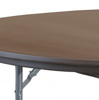PRE Rhino Round Brown lightweight table