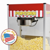 Classic design popcorn popper, commercial quality