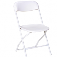 poly folding chairs are the best available with strong frames and extra strong rivets