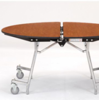 Round Mobile Cafeteria Tables